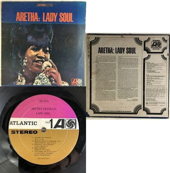 aretha franklin Especially soul 45s - rock vinyl revival