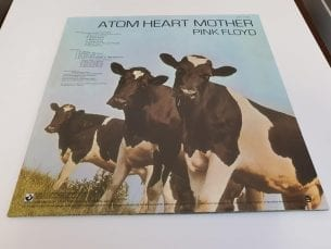 Pink Floyd-Atom heart Mother back cover
