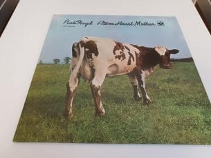 Pink Floyd-Atom heart mother front Cover