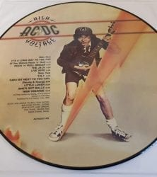 Buy this rare AC/DC High Voltage record by clicking here
