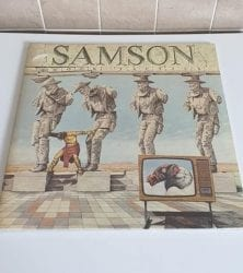 Buy this rare Samson record by clicking here