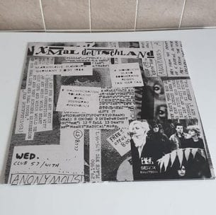 Buy this rare X Mal Deutschland record by clicking here