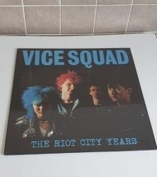 Buy this rare Vice Squad record by clicking here