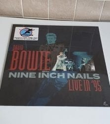 Buy this rare Bowie And Nine Inch Nails record by clicking here