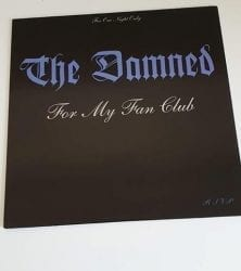 Buy this rare Damned record by clicking here