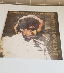 Buy this rare Bob Dylan And The Band record by clicking here