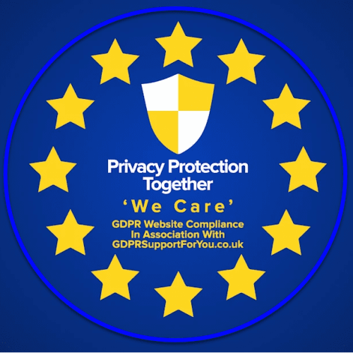 Privacy Protection Together - 'We Care' inassociation with gdprsupportforyou.co.uk