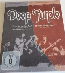 Get this limited Deep Purple DVD by clicking here.
