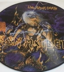 Buy this rare Irom Maiden record by clicking here