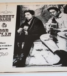 Buy this rare Jhonny Cash & Bob Dylan record by clicking here