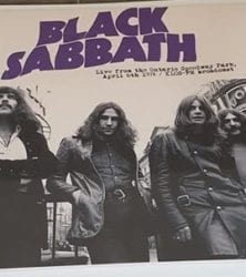 Buy this rare Black Sabbath record by clicking here