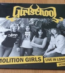 Buy this rare Girlschool record by clicking here
