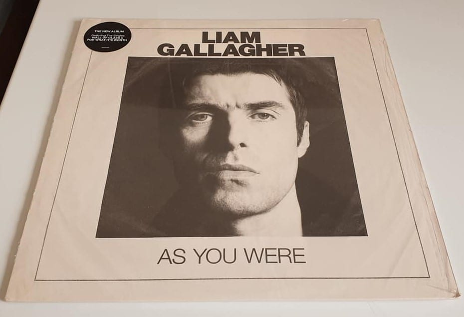 Buy this rare Liam Gallagher record by clicking here