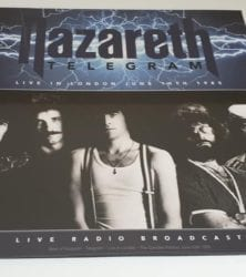 Buy this rare Nazareth record by clicking here