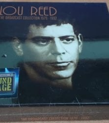 Get this Lou Reed CD Boxset by clicking here