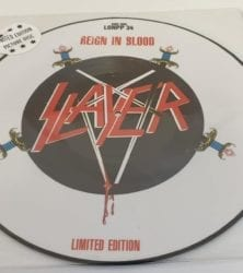 Buy this rare Slayer record by clicking here