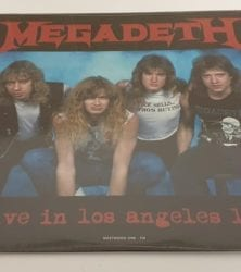 Buy this rare Megadeth record by clicking here