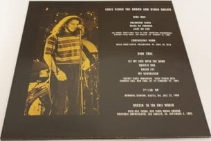 Buy this rare Pearl Jam / Eddie Vedder record by clicking here
