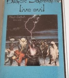 Buy this rare Black Sabbath Cassette by clicking here