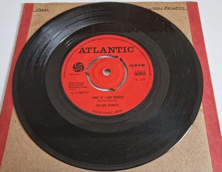 Buy this rare Wilson Pickett record by clicking here