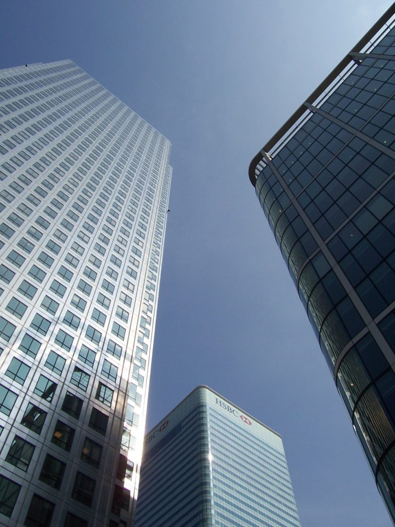 Canary Wharf Removals Going Up