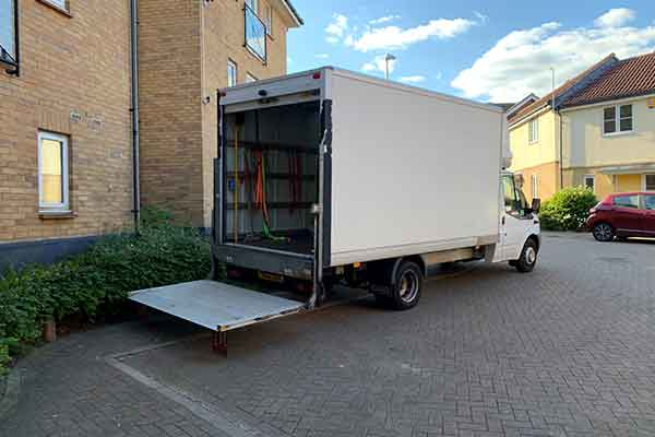 Islington House removal charges removal companies London