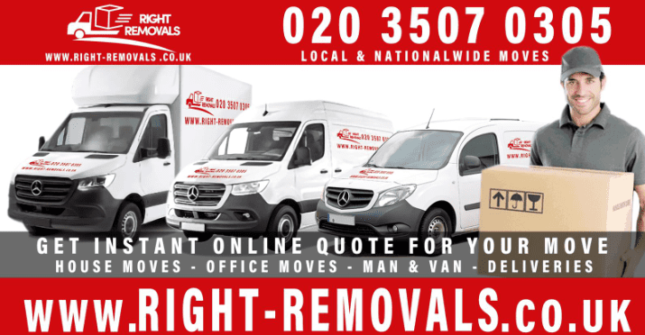East London Right Removals Van and Man